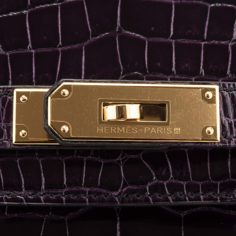 bdc0fc04706 Cheap Birkin Bag 30cm Aubergine Porosus Crocodile Gold Hardware Glendale,  AZ - hermes replica wallet uae - 1539629809