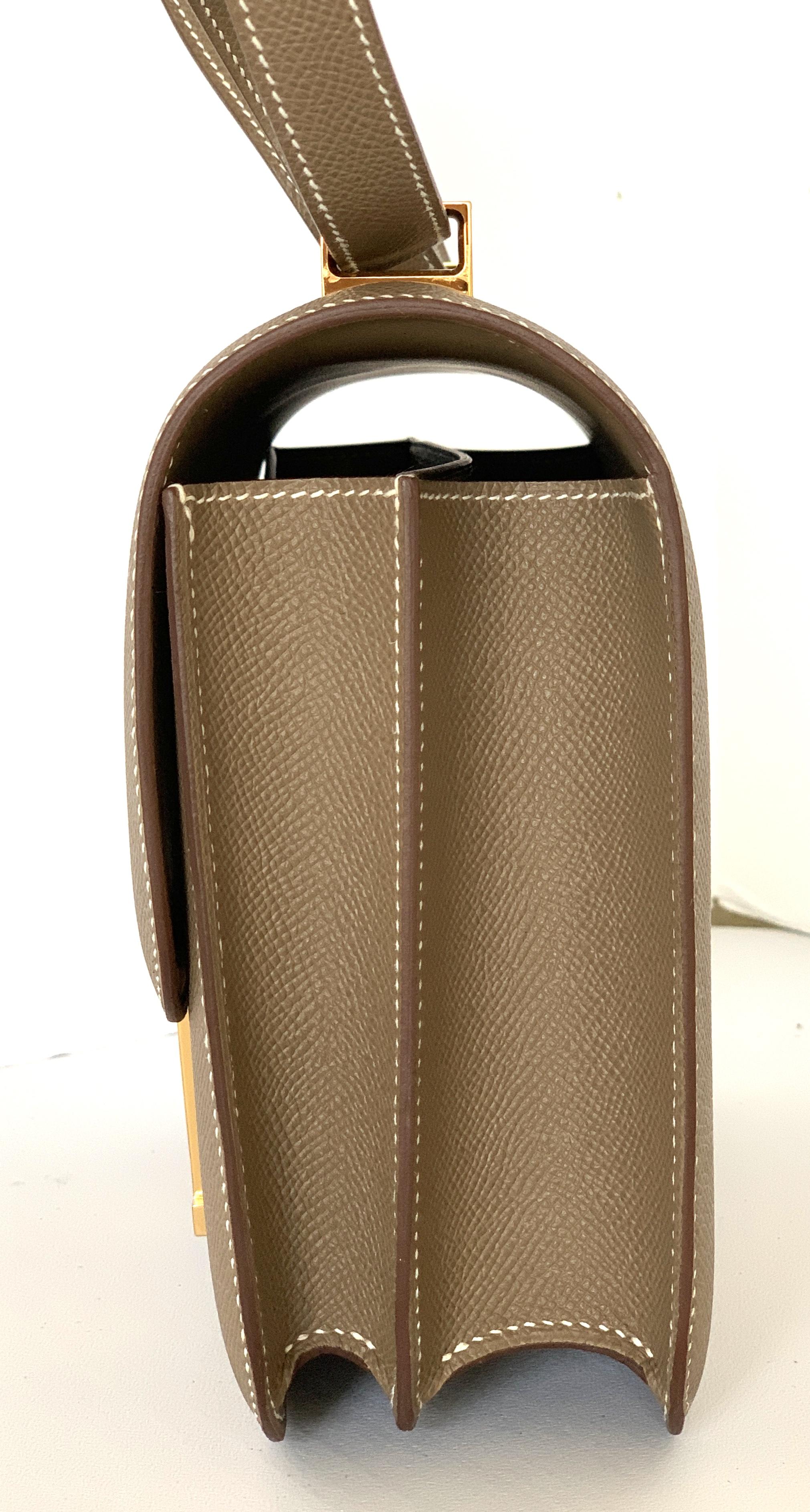 2bd676f6e340 China Constance Bag 24cm Etoupe Epsom Gold Hardware Mesa