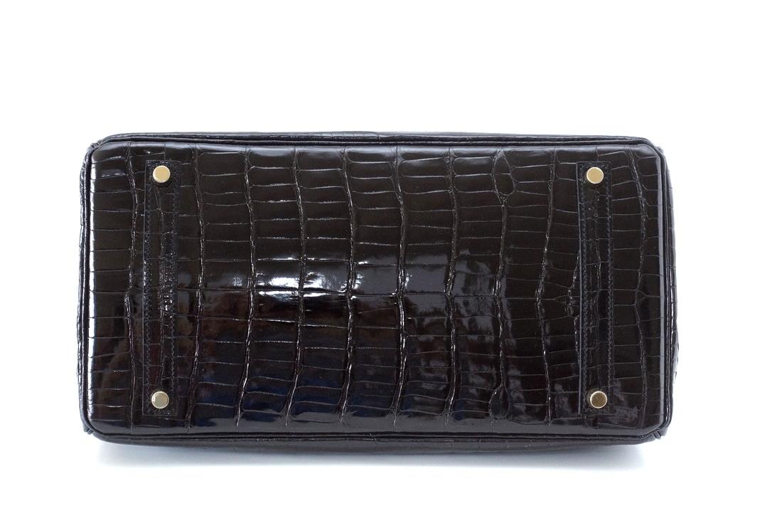 9e6b7cff327 Hot Sale Birkin Bag 35cm Black Porosus Crocodile Gold Hardware Pittsburgh,  PA - hermes replica birkin jelly bag - 1489337721